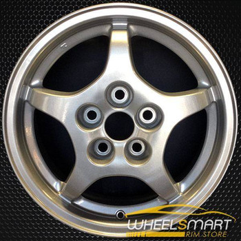 "16"" Mitsubishi Eclipse OEM wheel 1997-1999 Silver alloy stock rim ALY65751U10"