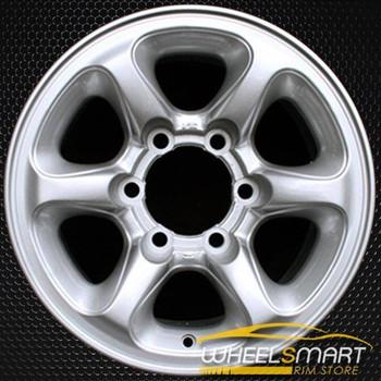 "15"" Mitsubishi Montero Sport OEM wheel 1997-1999 Silver alloy stock rim ALY65760U20"