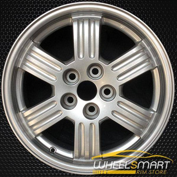 "17"" Mitsubishi Eclipse OEM wheel 2000-2002 Silver alloy stock rim ALY65772U10"