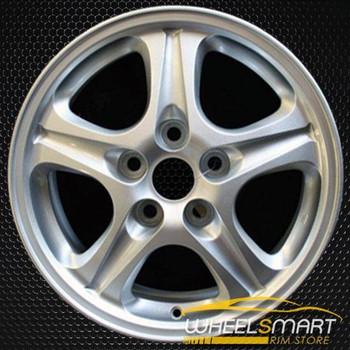 "16"" Mitsubishi Outlander OEM wheel 2003-2006 Silver alloy stock rim ALY65789U20"