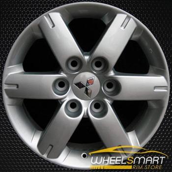 "17"" Mitsubishi Montero OEM wheel 2005-2006 Silver alloy stock rim ALY65807U20"