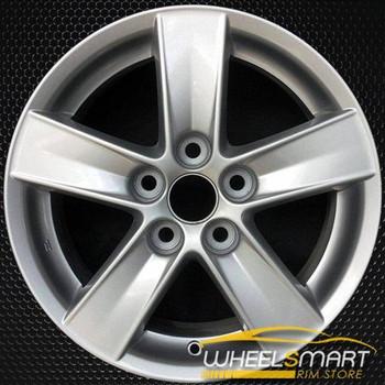 "16"" Mitsubishi Lancer OEM wheel 2008 Silver alloy stock rim ALY65844U20"