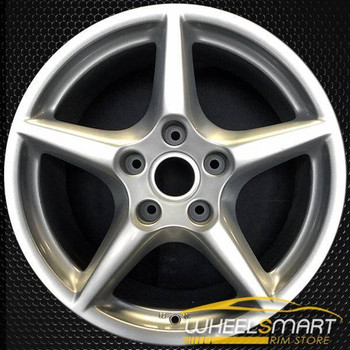"18"" Porsche 911 OEM wheel 2005-2008 Silver alloy stock rim ALY67322U20"