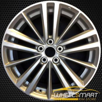"17"" Subaru Impreza OEM wheel 2012-2016 Silver alloy stock rim ALY68799U20"