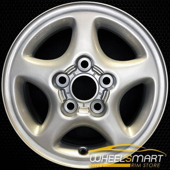 "14"" Toyota MR2 OEM wheel 1991-1992 Silver alloy stock rim ALY69289U10"