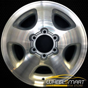 "16"" Toyota Land Cruiser OEM wheel 1993-1998 Machined alloy stock rim ALY69314A10"