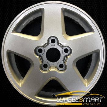 "15"" Toyota MR2 OEM wheel 1992-1995 Silver alloy stock rim 69316 ALY69316U10"