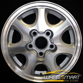 "15"" Toyota Camry OEM wheel 1994-1996 Machined alloy stock rim ALY69326U10"
