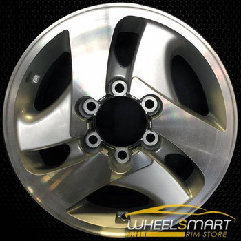 "16"" Toyota Sequoia OEM wheel 2001-2004 Machined alloy stock rim ALY69408U10"