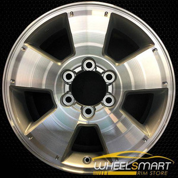"17"" Toyota Tacoma OEM wheel 2005-2015 Machined alloy stock rim ALY69463U10"