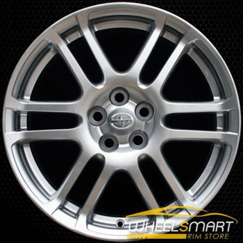 "17"" Scion TC OEM wheel 2005-2010 Hypersilver alloy stock rim ALY69471U77"