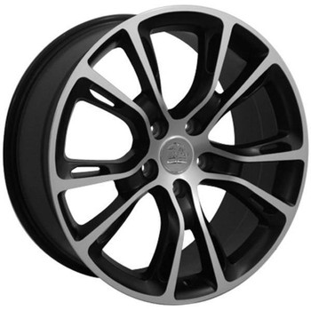 "20"" Dodge Durango replica wheel 2011-2018 Black Machined rims 9469795"