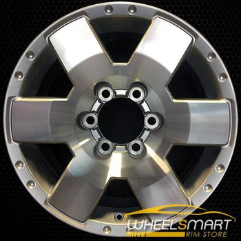 "17"" Toyota FJ Cruiser OEM wheel 2007-2010 Machined alloy stock rim ALY69503U10"