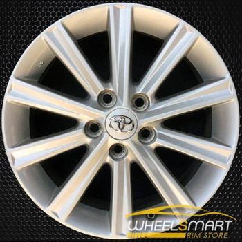 "17"" Toyota Camry OEM wheel 2012-2013 Silver alloy stock rim ALY69603U20"