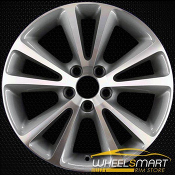 "17"" Volvo S70 OEM wheel 2010-2013 Machined alloy stock rim ALY70375U30"