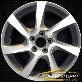 """17"""" Volvo S60 OEM wheel 2014-2015 Silver alloy stock rim ALY70391U20"""