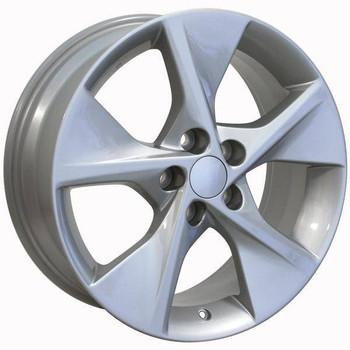 """18"""" Toyota Matrix replica wheel 2009-2013 Silver rims 9490636"""