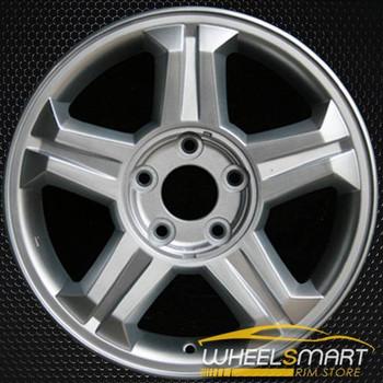 "16"" Hyundai Tiburon OEM wheel 2003-2004 Silver alloy stock rim ALY70700U20"