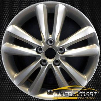 """18"""" Hyundai Tucson OEM wheel 2010-2013 Silver alloy stock rim ALY70795U20"""
