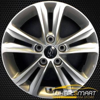 """16"""" Hyundai Sonata OEM wheel 2011-2014 Silver alloy stock rim ALY70802U20"""