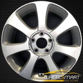 """17"""" Hyundai Elantra OEM wheel 2011-2013 Silver alloy stock rim ALY70807U20"""