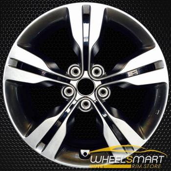 """18"""" Hyundai Veloster OEM wheel 2012-2015 Hypersilver alloy stock rim ALY70813U77"""