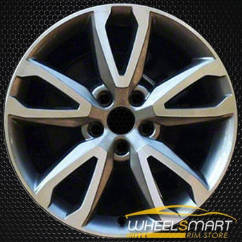 "18"" Hyundai Santa Fe OEM wheel 2014-2016 Machined alloy stock rim ALY70855U35"