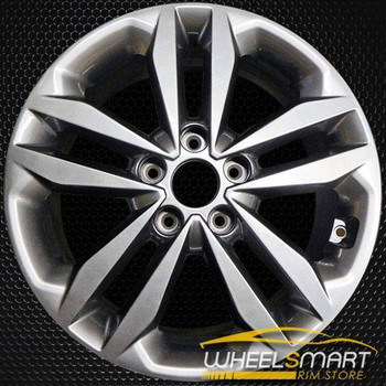 "17"" Hyundai Elantra OEM wheel 2016-2017 Charcoal alloy stock rim ALY70883U35"