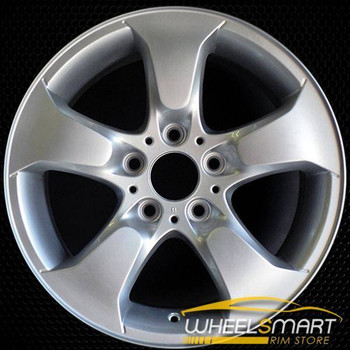 "17"" BMW X3 OEM wheel 2004-2010 Silver alloy stock rim ALY71158U20"