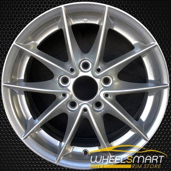 "16"" BMW 128i OEM wheel 2008-2013 Silver alloy stock rim ALY71401U20"