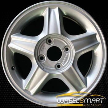 "16"" Acura CL OEM wheel 1997 Silver alloy stock rim ALY71672U10"