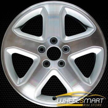 "17"" Acura CL OEM wheel 2001-2002 Machined alloy stock rim ALY71715U10"