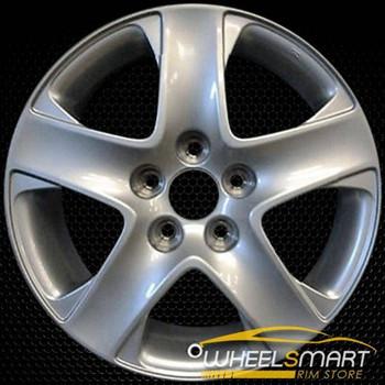 """17"""" Acura RL OEM wheel 2005-2008 Silver alloy stock rim ALY71743U20"""