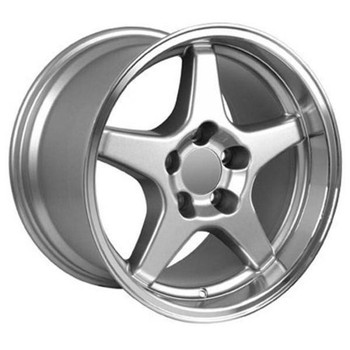 "17"" Pontiac Firebird  replica wheel 1993-2002 Silver Machined rims 5910193"