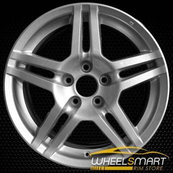 "17"" Acura TL OEM wheel 2007-2008 Silver alloy stock rim ALY71762U20"