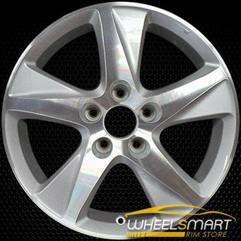 "17"" Acura TSX OEM wheel 2009-2015 Machined alloy stock rim ALY71781A15"