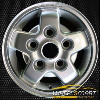 "16"" Land Rover Discovery OEM wheel 2000-2002 Silver alloy stock rim ALY72161U20"