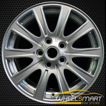 "18"" Land Rover LR3 OEM wheel 2007-2009 Silver alloy stock rim ALY72201U20"