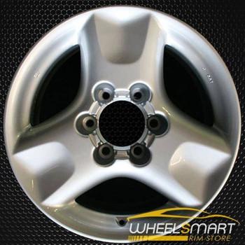 "17"" Infiniti I30 OEM wheel 2000-2001 Silver alloy stock rim ALY73657U10"