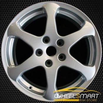 "17"" Infiniti G35 OEM wheel 2003-2004 Silver alloy stock rim ALY73669U20"