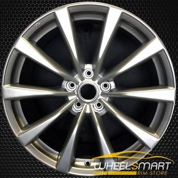 "19"" Infiniti G37 OEM wheel 2008-2009 Hypersilver alloy stock rim ALY73704U78"