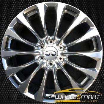 "22"" Infiniti QX80 OEM wheel 2015-2017 Silver alloy stock rim ALY73770U20"