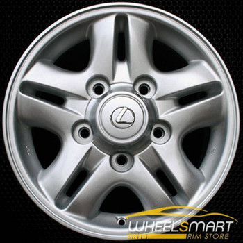 "16"" Lexus LX470 OEM wheel 1998-2002 Silver alloy stock rim ALY74145U10"