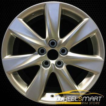 "19"" Lexus LS600HL OEM wheel 2008-2012 Silver alloy stock rim ALY74248U20"