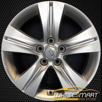 "17"" Kia Sportage OEM wheel 2011-2013 Silver alloy stock rim ALY74641A20"