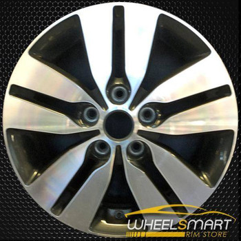 "16"" Kia Forte OEM wheel 2013 Machined alloy stock rim ALY74672U35"