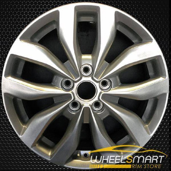 "17"" Kia Optima OEM wheel 2014-2015 Silver alloy stock rim ALY74690U20"