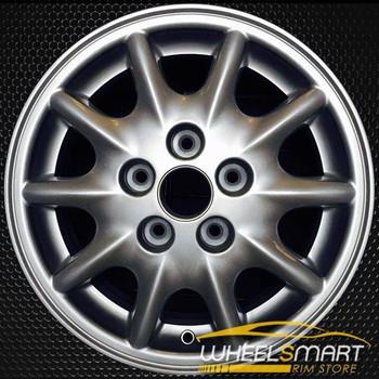 """15"""" Daewoo Leganza OEM wheel 1998-2002 Silver alloy stock rim ALY75137U10"""