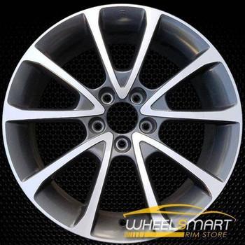 "18"" Acura TLX oem wheel 2015-2018 Machined alloy stock rim 71827"