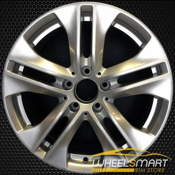 "17"" Mercedes E350 OEM wheel 2010 Silver alloy stock rim ALY85124U20"